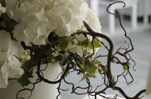Addobbi con rami di albero e bacche - Pistone Alfreda Fiortista