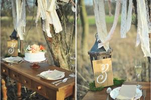 Pizzi e merletti per i tavoli del matrimonio boho-chic - Wish L'Officina dei Sogni