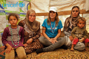 Elisabetta Canalis Goodwill Ambassador per l'UNICEF