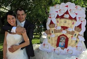 Tema per il tableau di matrimonio for Idee per temi argomentativi