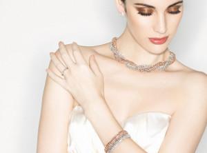 Gioielli per la sposa, collana € 114, bracciale € 69 - Collezione Wedding Luxury by Unoaerre