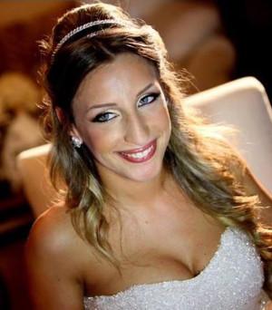 Acconciatura da sposa dallo stile glamour - Monica Schiraldi