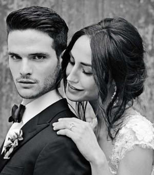 Acconciatura da sposa spettinata, semiraccolta lasciata morbida - My Wedding Mirror, Sì sei bellissima