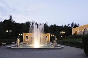 Ninfeo nel giardino di Villa Fano del Poggio a Bari