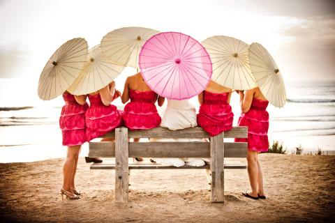Ombrelli parasole per il matrimonio