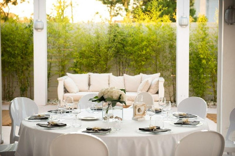 Mise en place bianca per il matrimonio - COCO Eventi