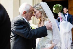 La sposa con il padre - Emiliano Cribari Fotografo