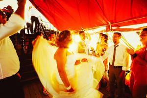 Gli sposi ballano durante il ricevimento - Marta Buso Fotografa