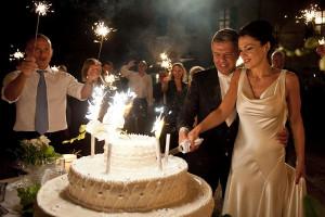 Foto del taglio della torta - Alessandro Zanon Wedding Photographer