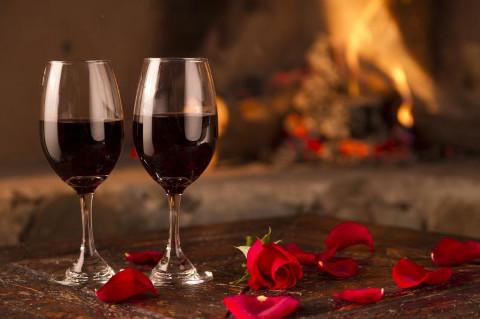 Cena romantica a casa per festeggiare il primo anniversario di nozze