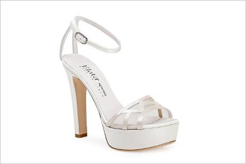 Sandalo alto con plateau - Elata Scarpe per la Sposa