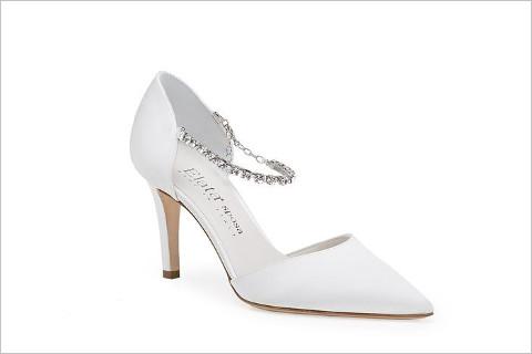 Scarpa con cinturino gioiello - Elata Scarpe per la Sposa