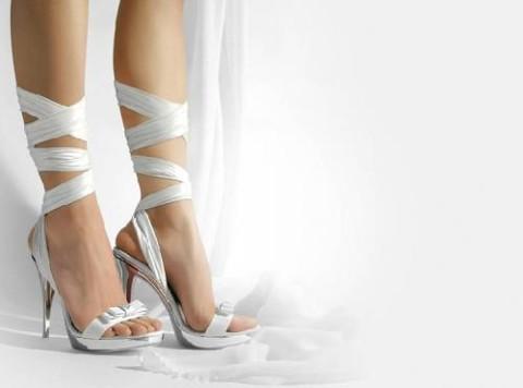 Scarpe da sposa con chiusura alla schiava - Lorusso Alta Moda