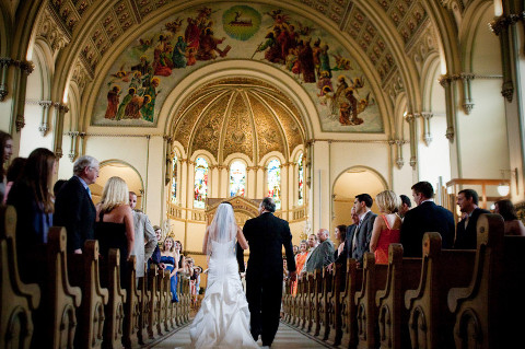 Chiesa per il giorno del matrimonio