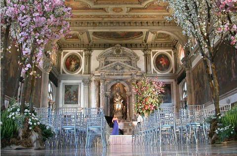 Scuola San Giovanni Evangelista per il matrimonio