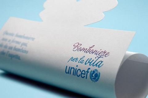 Una bomboniera che lascia spazio alla vita - Bomboniere solidali dell'UNICEF