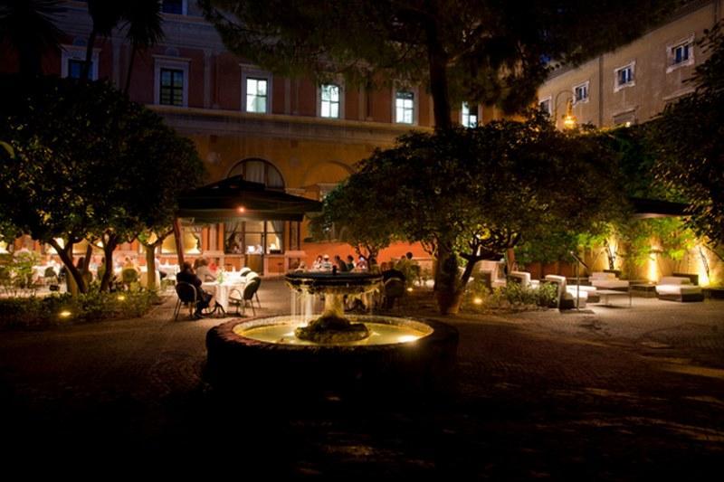 Il giardino pensile dell'Hotel Columbus per il matrimonio