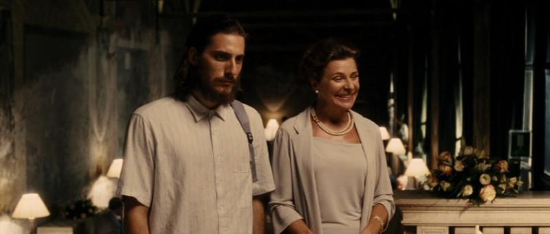 Scena del film La Grande Bellezza nella Sala Veranda dell'Hotel Columbus