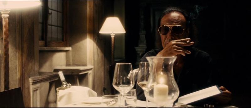 Scena del film La Grande Bellezza con Venditti all'Hotel Columbus