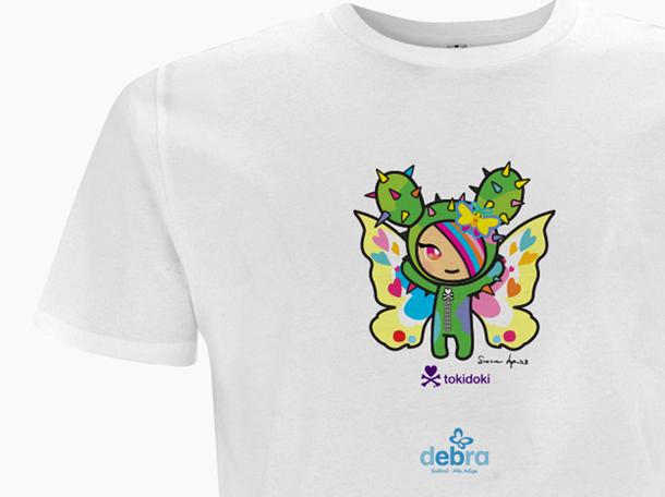 Maglietta dedicata ai Bambini Farfalla
