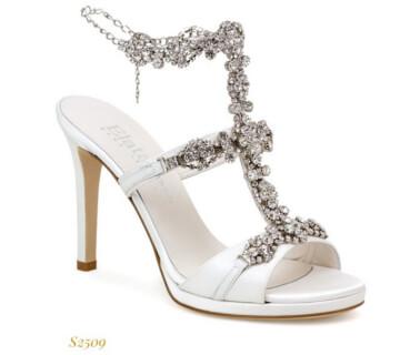 Sandalo Elata con cristalli nella parte frontale