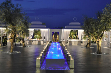 Il giardino Zen di Villa Carafa