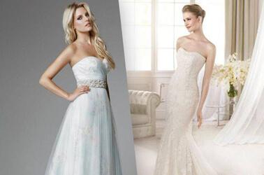Esempi di abiti da sposa
