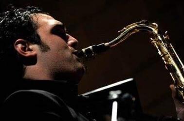 Sassofonista a un matrimonio