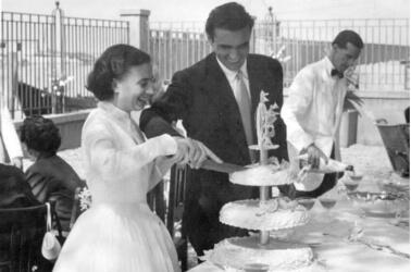 Matrimonio della famiglia Nason a Villa Lina