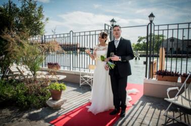 Sposi a Villa Lina