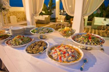 Banchetto di nozze a Coco Beach Club