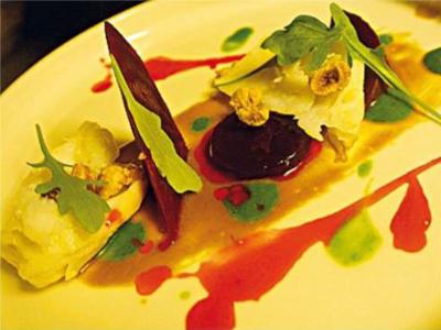 Piatto forte dello chef Panichi