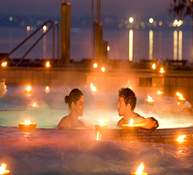 Momento relax in una spa