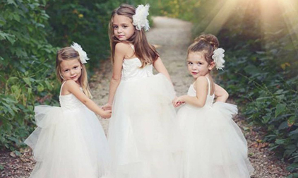 Damigelle bambine al matrimonio
