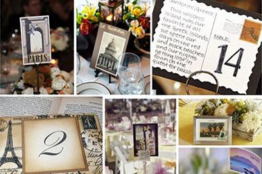Tema Matrimonio Quadri Famosi : Idee originali per i segnatavolo di matrimonio lemienozze