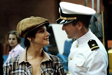 Debra Winger a Richard Gere in Ufficiale e gentiluomo