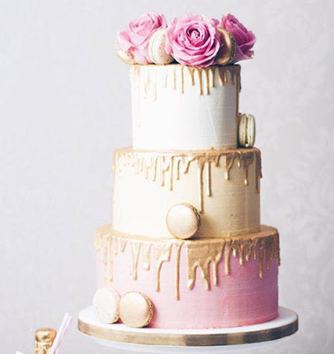 Drip Wedding Cake<