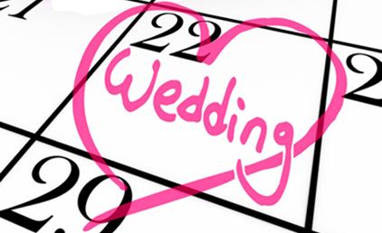 La data di matrimonio