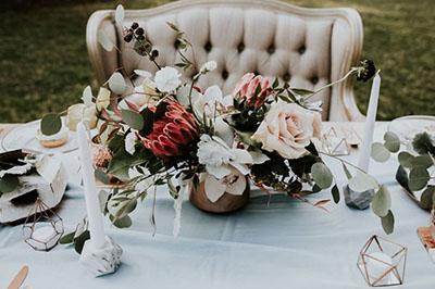 Centrotavola di matrimonio 2018