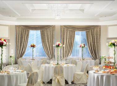 Sala per ricevimento di matrimonio al Royal Hotel Sanremo