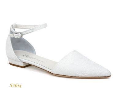 Scarpa comoda da sposa Elata con cinturino