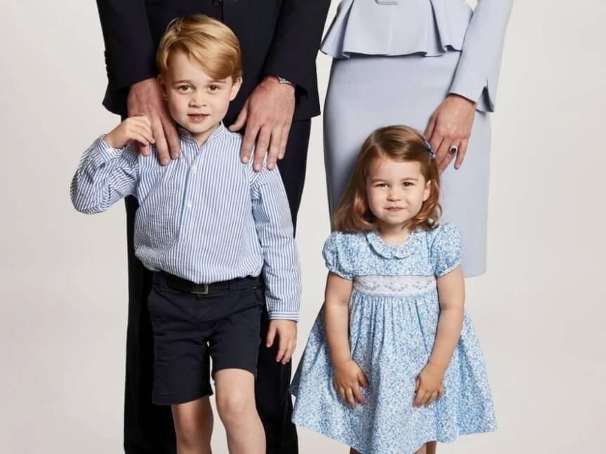 George e Charlotte saranno i due paggetti alle nozze di Harry e Meghan