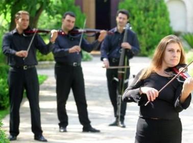 Intrattenimento musicale: quartetto d'archi Gershwin
