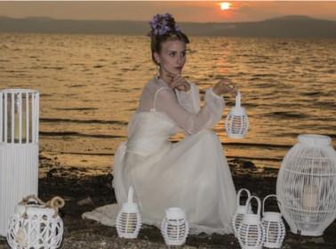 abito da sposa etnico veli