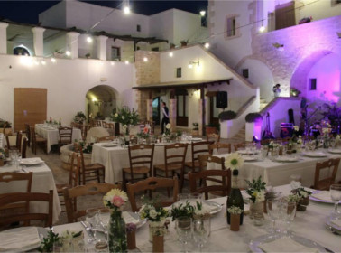 Matrimonio sera location