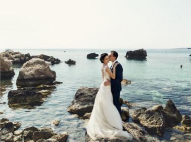 sposi mare