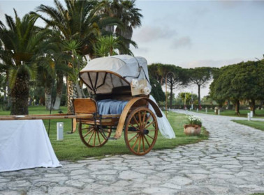 carrozza matrimonio vintage