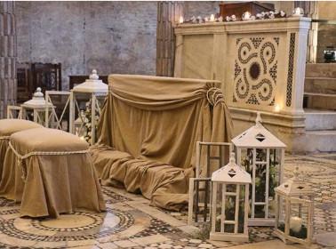 allestimento rito abbazia