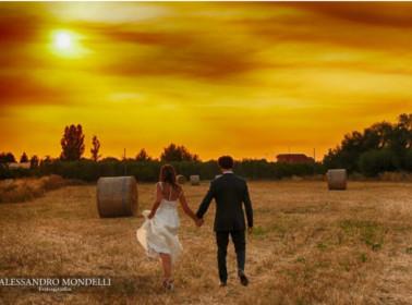 foto matrimonio grano