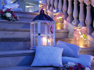 lanterne matrimonio sera mare